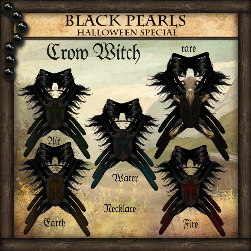 [BlackPearls] - Crow Witch