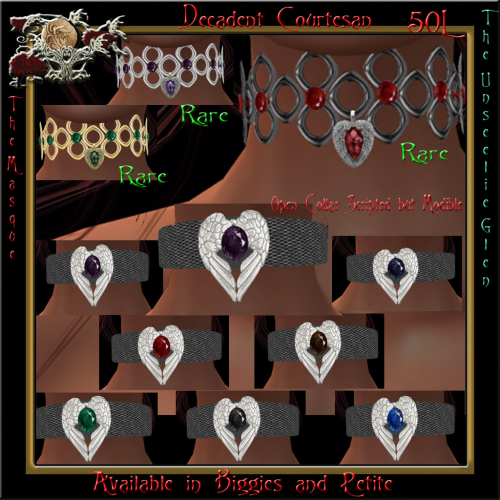 Decadent Courtesan Legacy Collars