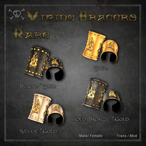 Forge Viking Bracers Rare