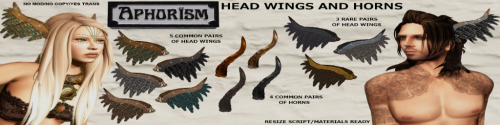 HEAD WINGS AND HORNS AD SL