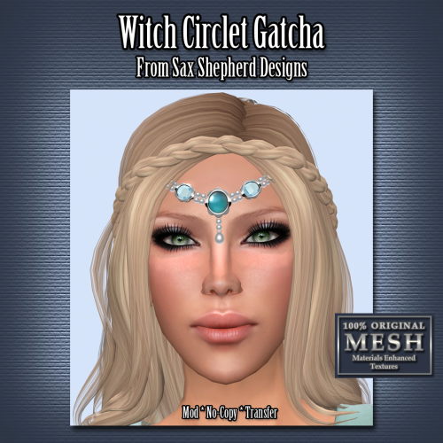 Sax Shepherd Designs - Oct Fant Gacha - Witch CIrclet Poster B