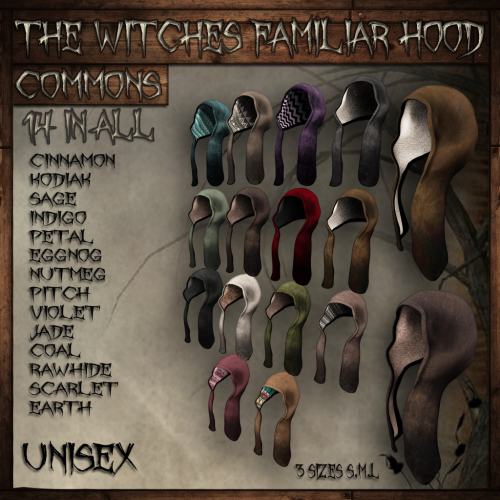witches familiar  hood common add